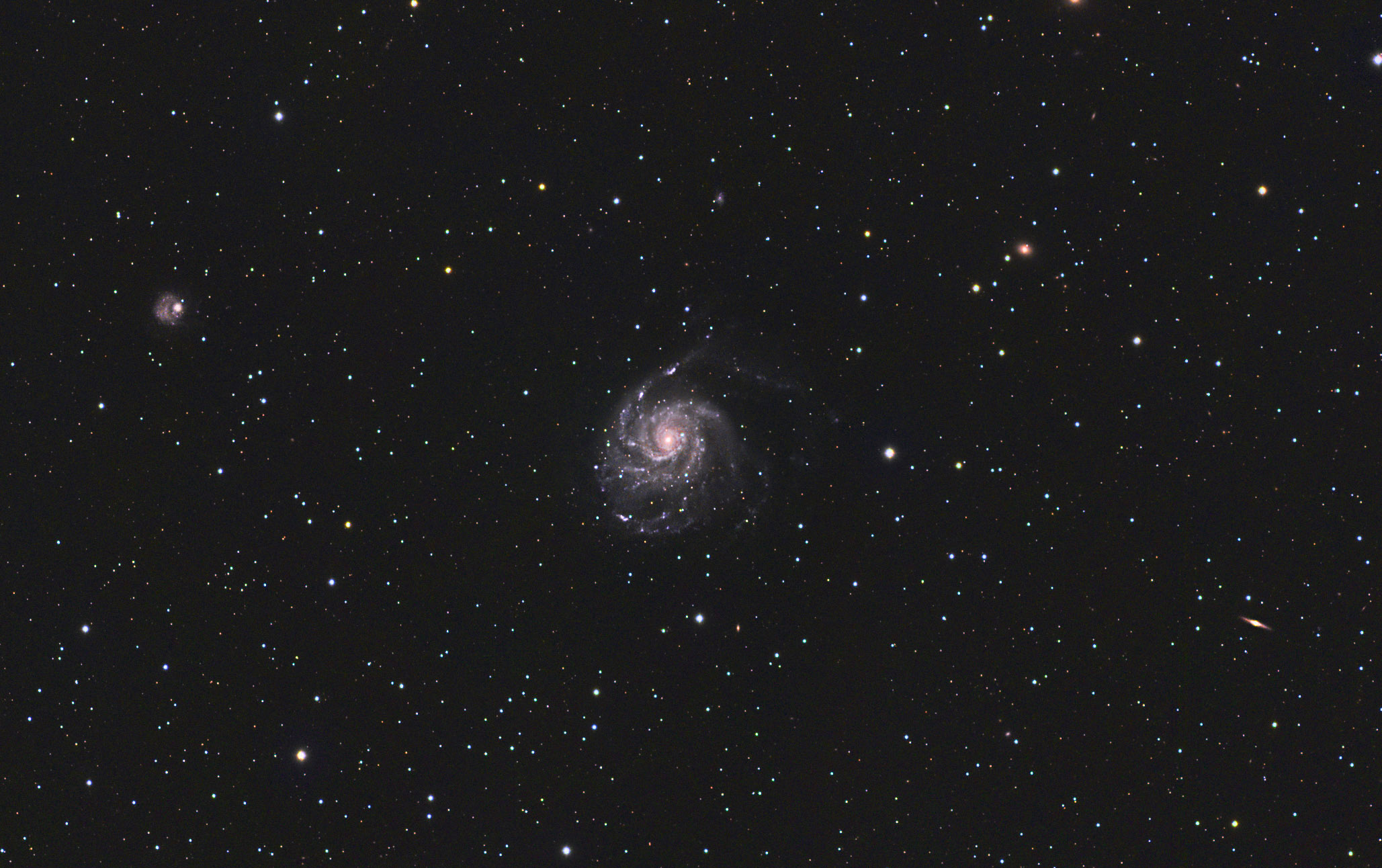 Messier 101- The Pinwheel Galaxy